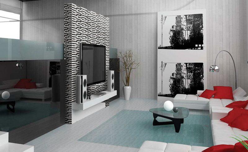 Membedah Ruang Tamu Rumah Type Minimalis Simple Namun Elegan Intermezzo Centro Ceramic