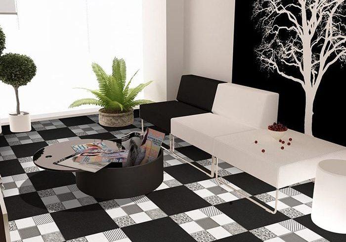 Keramik Lantai Ruang Tamu