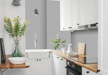 Dinding Dapur Lebih Nyaman Dengan Keramik Batu Alam